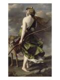 Diane chasseresse Giclée-tryk af Orazio Gentileschi