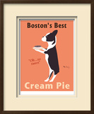 Boston&#39;s Best Limited Edition Framed Print by Ken Bailey