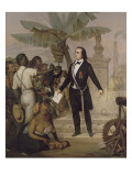 Emancipation in Reunion - Sarda Garriga - 20.X.1848 Giclee Print by Alphonse Garreau