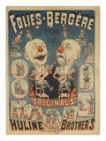 Folies-Bergères, Huline brother's Giclee Print