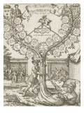 Family Tree of Henry Iii and Henry Iv, from St. Louis Giclee Print