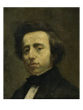 Fréderic Chopin (1810-1849), musicien Giclee Print by Thomas Couture