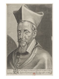 Fran&#231;ois, Cardinal De La Rochefoucauld (1567-1645) Giclee Print by Michel Lasne