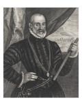 François Valdès Giclée-Druck von Cornelius de Visscher