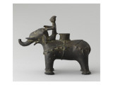 Foot Censers Ornithomorphe: Elephant and His Mahout Giclee Print