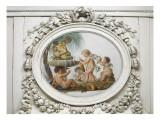 Salon des jeux de la reine Marie-Antoinette : l'Eau Giclee Print by Piat Joseph Sauvage