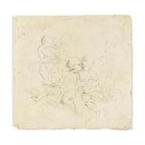 Cinq enfants nus Giclée-Druck von Arnould de Vuez