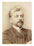 Gustave Eiffel, Chest, Right Arm Folded across Chest Giclee Print by François Touranchet