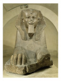 Grand sphinx Lámina giclée