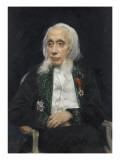 Felix Ravaisson-Mollien (1813-1900), Archaeologist Giclee Print by Jean Joseph Weerts