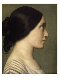 La Florentine Giclee Print by Hippolyte Flandrin