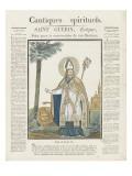 Saint Guérin, évêque Giclee Print
