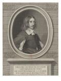 Georges de Scudéry, écrivain (mort en 1667) Giclee Print by Robert Nanteuil