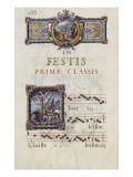 Graduale romanum, exécuté par P. Louis Blouin: Giclée-tryk af J.B. de Bray