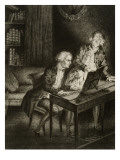 Gluck (Christoph Willibald Von Knight) (1714-1787) Giclee Print by Frédéric Villot