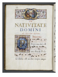 Graduale romanum, ex&#233;cut&#233; par P. Louis Blouin Reproduction proc&#233;d&#233; gicl&#233;e par J.B. de Bray