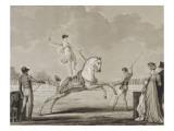 Exercice de Franconie n2 Giclee Print by Antoine Charles Horace Vernet