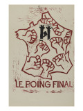 Le poing final Reproduction procédé giclée