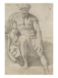 Figure d'un officier romain Giclée-Druck von Daniele Da Volterra