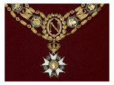 Grand Collar of the Legion of Honour of King Jerome Giclee Print