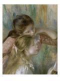 Jeunes filles au piano Giclee Print by Pierre-Auguste Renoir