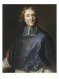 François de Salignac de la Mothe-Fenelon, archevêque de Cambrai (1651-1715) Giclée-Druck von Joseph Vivien