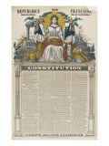Rpublique franaise de 1848, Constitution Lmina gicle