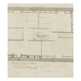 Fragment de plan d'un bâtiment Giclée-Druck von Giorgio Vasari