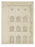 Fragment du Colisée à Rome Giclée-Druck von Herman Vischer