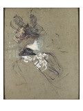 Femme de profil (madame Lucy) Lámina giclée por Henri de Toulouse-Lautrec