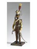 Figurine de la collection d'uniformes de la Garde Impériale du premier Empire Reproduction procédé giclée