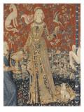 Tenture de la Dame à la Licorne : Le Goût Lámina giclée