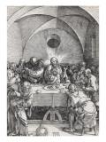 Grande passion - La Cène Giclée-Druck von Albrecht Dürer