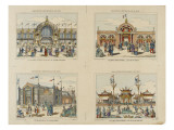 Exposition universelle de 1878 Reproduction proc&#233;d&#233; gicl&#233;e