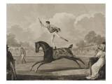 Exercice de Franconie n°1 Giclee Print by Antoine Charles Horace Vernet