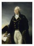 François-Christophe Kellermann, général en chef de l'armée de la Moselle en 1792 (1735-1820) Giclee Print by Georges Rouget
