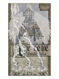 """Frontispice pour """"Le Rêve"""" de Zola Giclee Print by Carlos Schwabe"""
