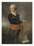 Francois, Marquis De Chasseloup-Laubat (1754-1833) Giclee Print by Georges Rouget