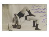 F. Gruhn and G. Hackenschmidt. Xii. Thedouble Bridge Giclee Print