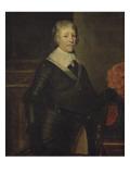 Frédéric Henri de Nassau, prince d'Orange et Stadhouder (1584-1647) Giclée-Druck von Gerrit Van Honthorst