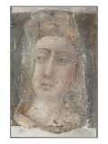 T&#234;te de femme Gicl&#233;e-Druck von Lorenzo Di Pietro Vecchietta