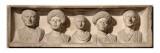 Relief funéraire de Caius Marullus, de sa femme Secera et de leur trois enfants Giclee Print