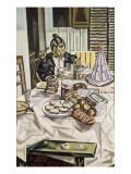 La gourmandise Gicléetryck av Maria Blanchard