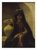 Jeune fille de Grande Kabylie : Portrait d'Algérienne Giclee Print by Louise Canuet