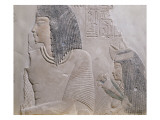 Bas Relief of General and His Wife Ameneminet Depet Giclee Print