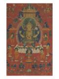 Avalokiteçvara sous son aspect Sadaksarî Impression giclée