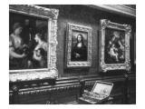 Au salon carré du Louvre : la Joconde Giclée-Druck von François Vizzavona