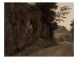 Environs de Nemi : rochers Giclée-Druck von Pierre Henri de Valenciennes