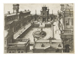 Perspectives d'architecture Giclée-Druck von Hans Vredeman Vries