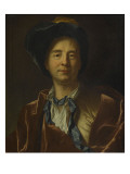 Bernard Le Bovier De Fontenelle (1657-1757), Writer Giclee Print by Hyacinthe Rigaud